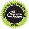 The Princeton Review Green College Honor Roll 2014