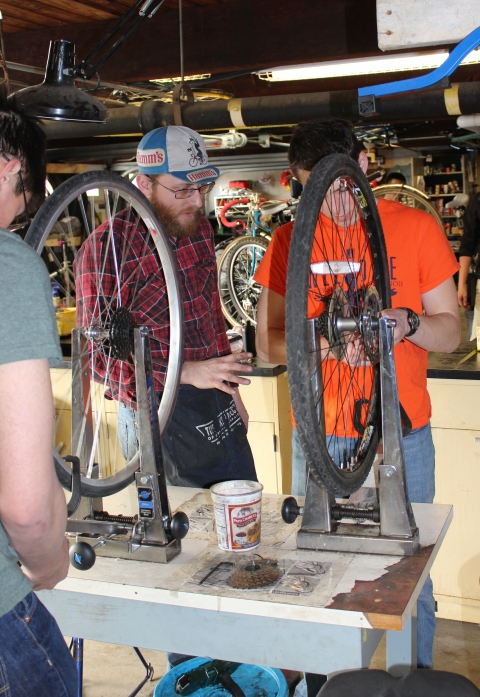 Image from the Campus Bike Center
