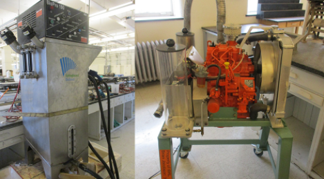 Equipment used by the Illinois Biodiesel Initiative (IBI)