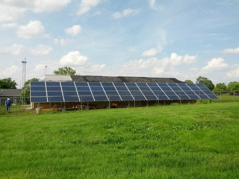 BRC Ground Mounted Solar PVs completed