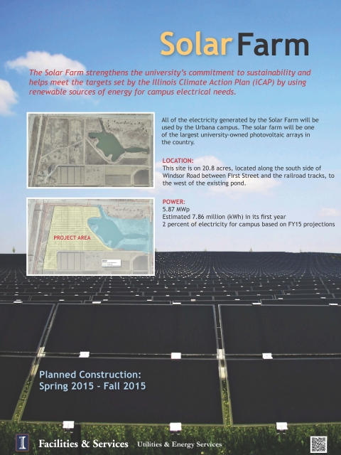 Fact sheet for the Solar Farm 1.0