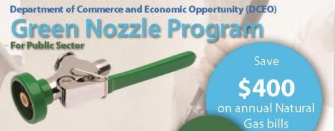 DCEO Green Nozzle Program flyer