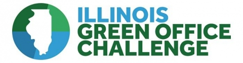 Illinois Green Office Challenge logo