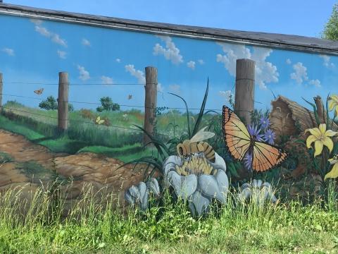 Pollinator mural