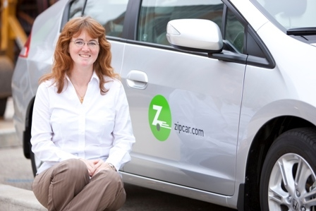 ZipCar with Morgan White