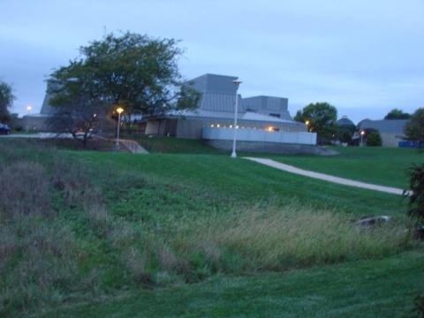 Site for the Rain Garden at Vet Med