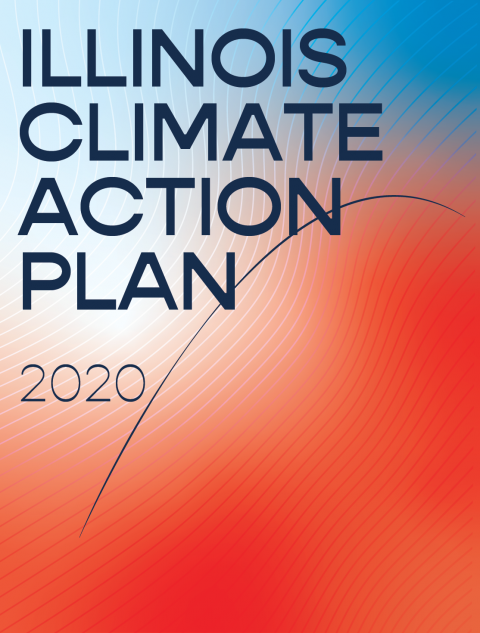 Illinois Climate Action Plan 2020 cover image - with new U of I branding