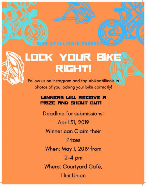 Lock Your Bike Right flyer