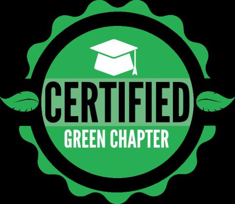 Certified green chapter logo
