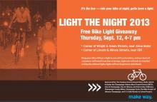 2013 Light the Night Poster