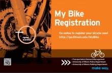 Bike Registration Poster